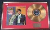 Elvis Presley - 24 Carat Gold Disc and Cover - Frankie and Johnny